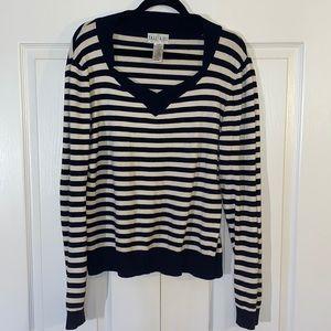 Tall Girl Striped Sweater